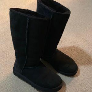 UGG classic black boots
